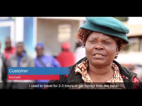 Transforming Lives With EcoCash  | Mahindra Comviva's Mobiquity Money