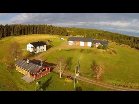 Norsk Drone Foto Film Rena
