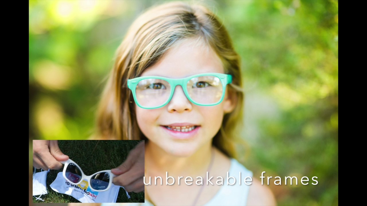 ea5aedaee2 Roshambo Baby Prescription Glasses in Every Color! - YouTube