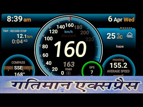 ONBOARD GATIMAAN Exp. ! FASTEST TRAIN OF INDIA FULL JOURNEY