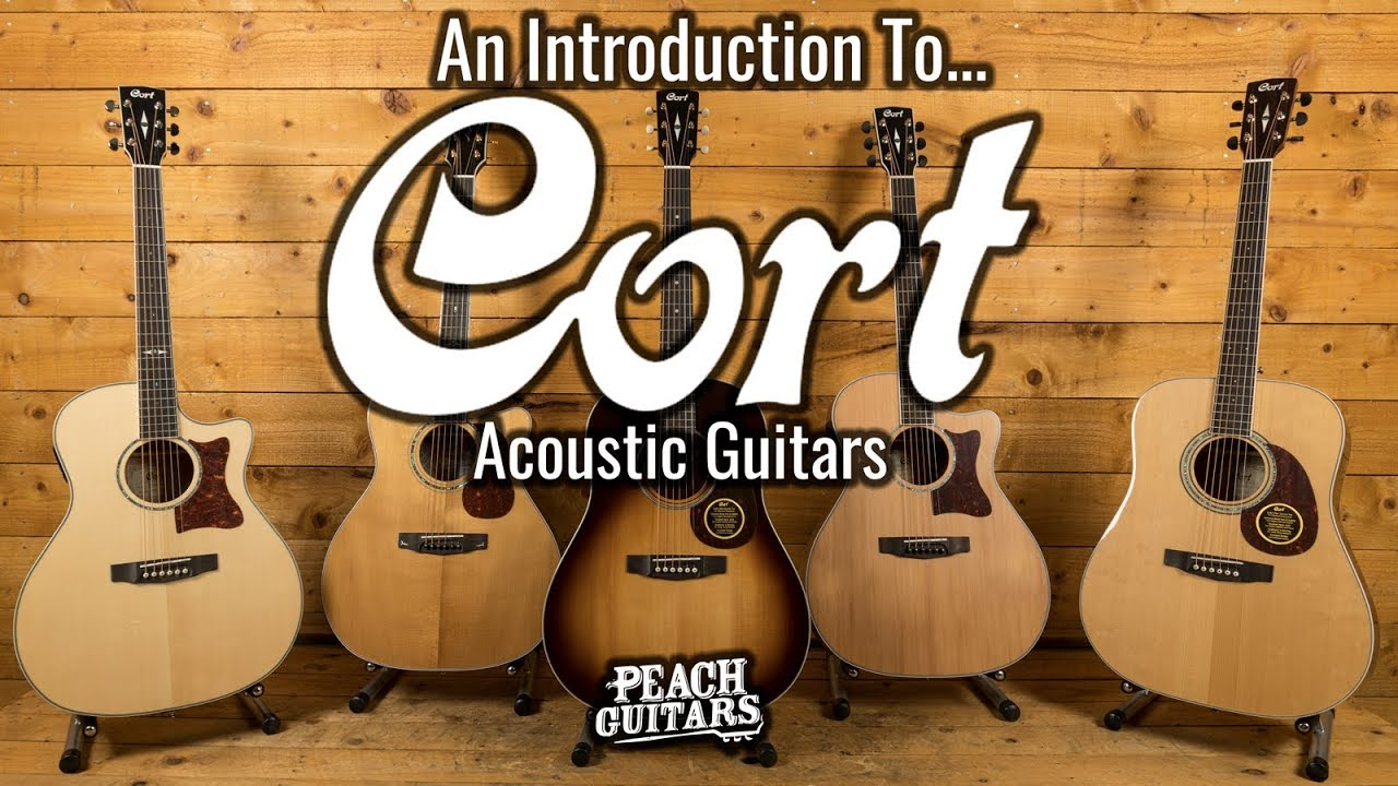 An Introduction To Cort Acoustic Guitars Youtube