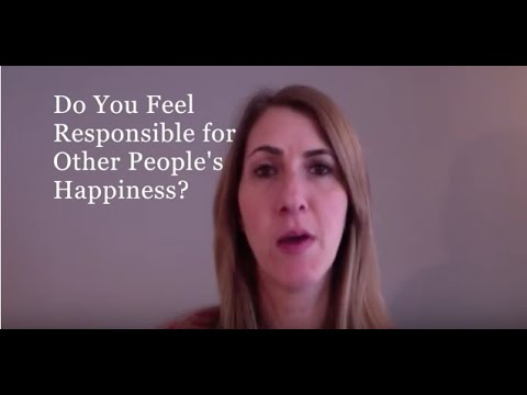 How to Stop Feeling Responsible for Other People's Happiness. Carly Cooper Gives You The sCOOP