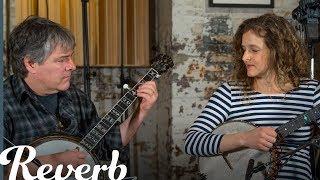 Béla Fleck & Abigail Washburn: Clawhammer vs. Three-Finger Banjo Style | Reverb Interview