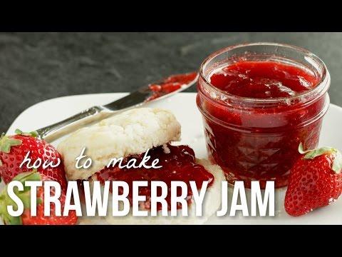 how-to-make-strawberry-jam!!-homemade-small-batch-preserves-recipe