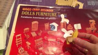 How To Make Templates From Inexpensive Dollshouse Furniture