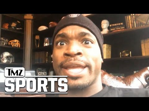 Adrian Peterson Gives Pump Up Message to Vikings,