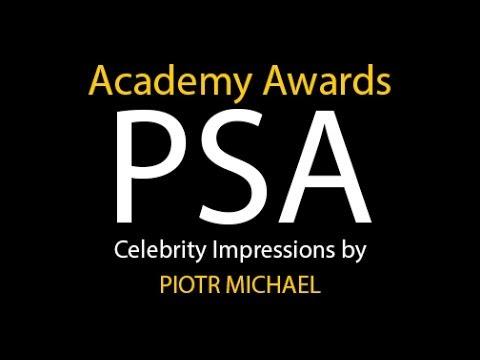 2014 Academy Awards PSA with Celebrity Impressions by ...