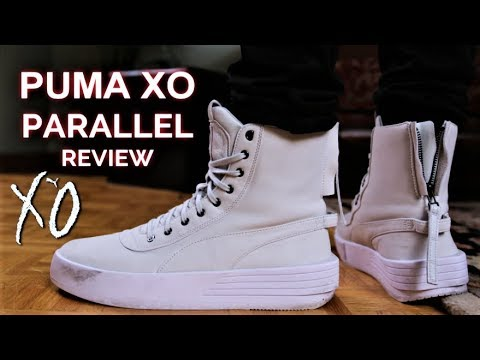 8b4aa3c3f60 PUMA XO Parallel Review and On-Feet (PUMA x THE WEEKND) - YouTube