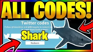ALL *NEW* SECRET OP WORKING CODES! Roblox SharkBite 🦈