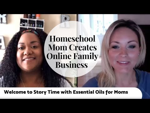 Homeschooling Mom Creates an Online Family Business | Home school Mom