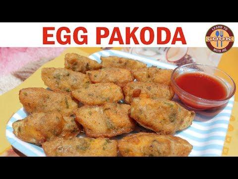 Egg Pakoda Recipe – Non Veg. Snacks | Easy & Quick recipe | Anyone can make at home