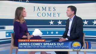 NBC Anchor Calls Comey Bitter, Catty, And Biased Against Trump During Interview
