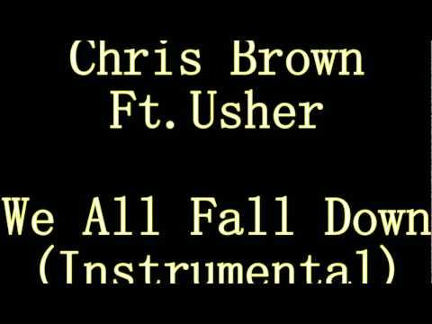 Chris Brown Ft. Usher - We All Fall Down (original Instrumental)
