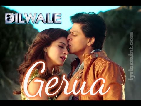 Gerua Official New Song Video 2015 - Shah Rukh Khan | Kajol | Dilwale | SRK Kajol