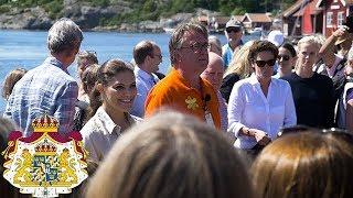 Kronprinsessan vandrar i Bohuslän