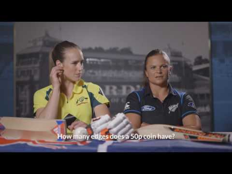 British Culture Quiz with Ellyse Perry and Suzie Bates - #WWC17