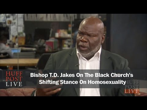 Bishop T.D.  Jakes On The Black Churchs Shifting Stance On Homosexuality