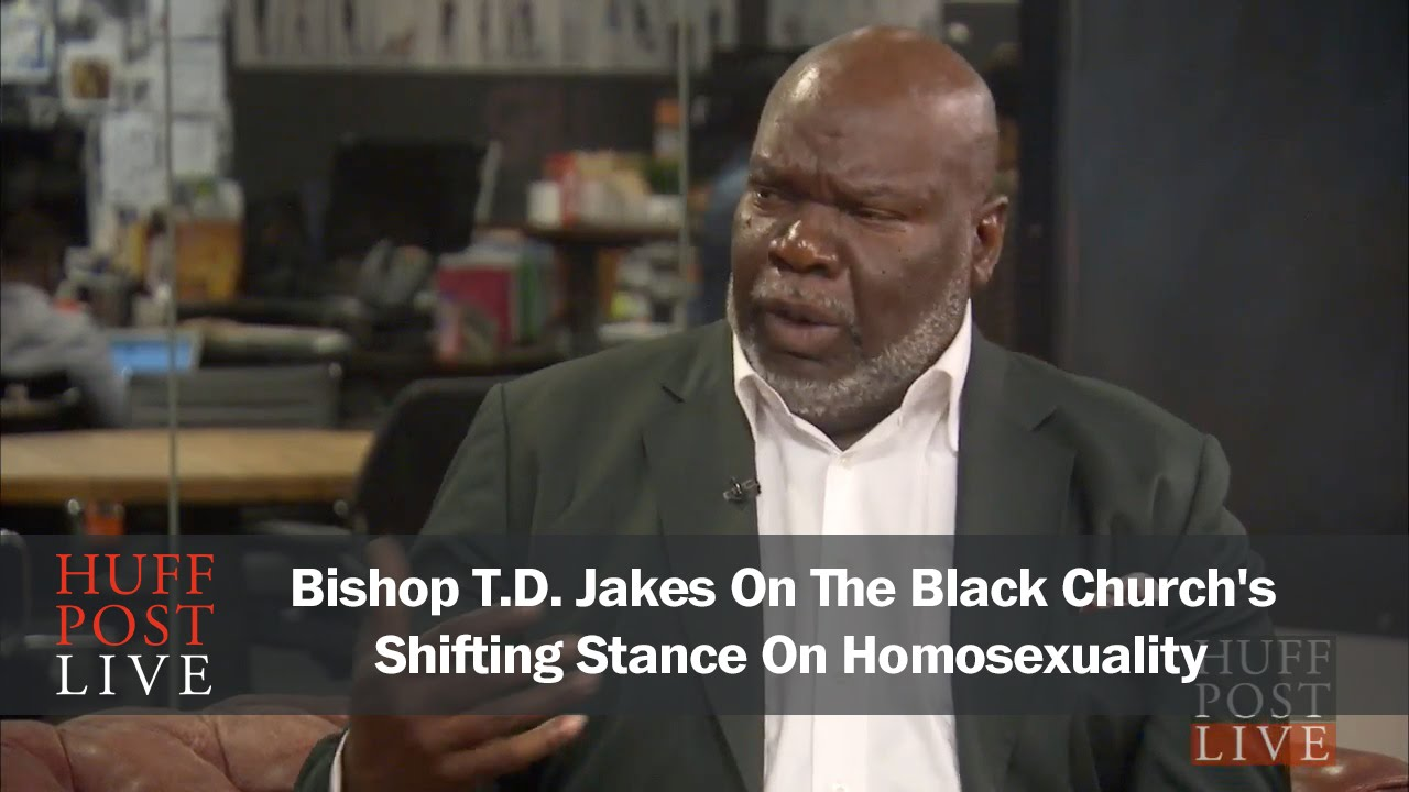 T d jakes homosexuality in japan