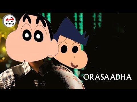 Orasaadha - Full Song  Shinchan Version tamilstatus