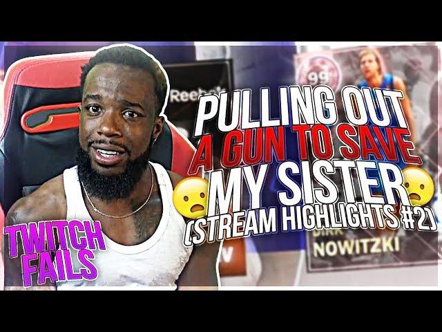 CashNasty Stream Highlights #2 (Gun Pulled LIVE)