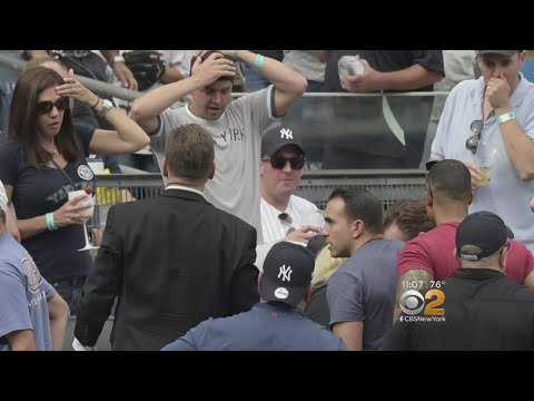 Young Fan Hospitalized After Being Struck By Foul Ball At Yankee Stadium