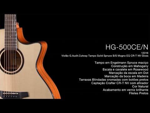 Violão Crafter HG HG-500CE/N