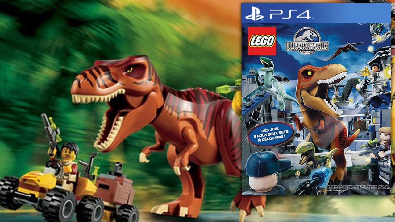 Game World Toys Video Big Teaser Jurassic Footageamp; Lego Fig D2EHI9WY