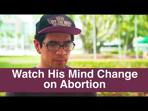 """It was horrific, yeah"" - Watch his mind change on abortion"