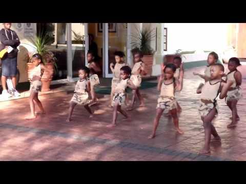 Swazi Kids dance at Mountainn Inn Mbabane Swaziland