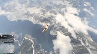 GTA 5 PC  (chute libre - sans parachute -sans mourir- sans cheat)