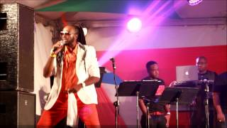 MISTAH DALE CELEBRATE   PERFORMANCE AT SWEET SOCA SEMIFINALS 2015 AT KENSINGTON OVAL