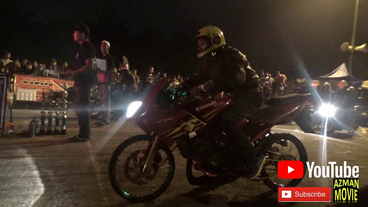 PART 1 135cc-150cc 2t Sprint Test Drag Racing Kubang Menerong