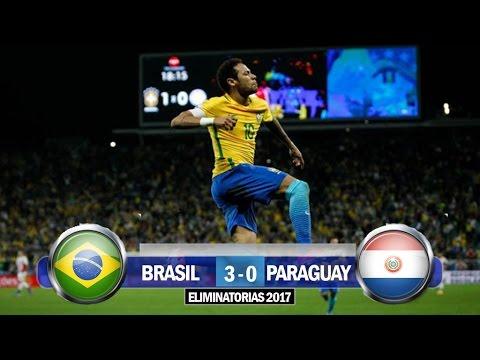 Brasil 3-0 Paraguay / Eliminatorias Conmebol Rusia 2018 / Relato Julian Bricco (Tyc Sports)