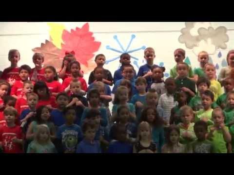 Antietam Elementary School Kindergarten Concert Spring 2014