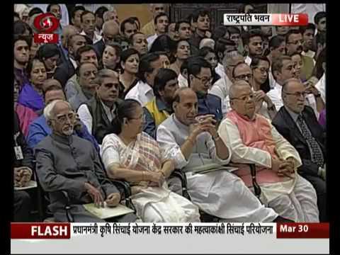 President Shri Pranab Mukherjee gives away Padma Awards 2017
