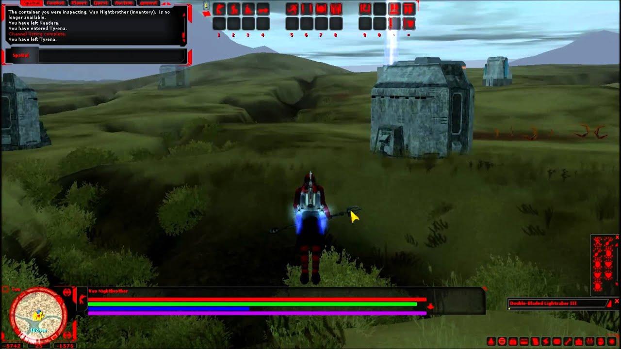 Lightsaber Crafting SWGEmu