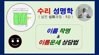 이름 작명과 이름운세 풀이법 ( 성명학 강좌 5강 )