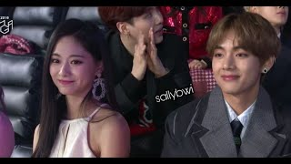 Taehyung ♡ Tzuyu TaeTzu Moments compilation-7(2019TFMA)