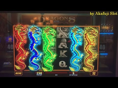 FREE PLAY LIVE★DRAGONS Over Nanjing Slot Machine Max Bet Re-trigger and Re-trigger San Manuel Casino