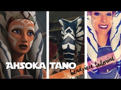 Ahsoka Tano Headpiece tutorial | Jedimanda