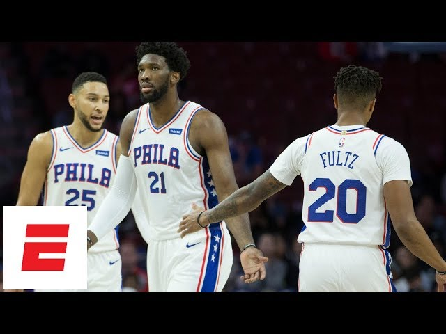 7904f9706 The Philadelphia 76ers defeat Australia s Melbourne United in their  preseason opener lead by Ben Simmons