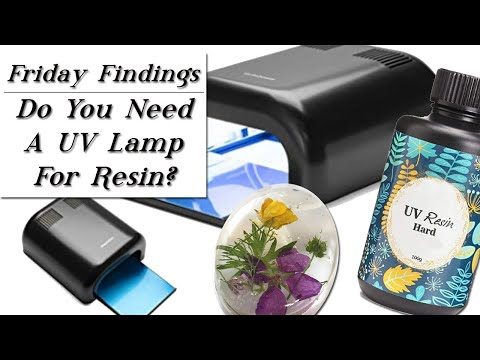 Do You Need a UV Light To Do Resin?  Friday Findings Review