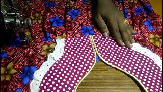 Nighty cutting and stitching easy method