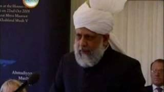 Khalifatul Massih's address to Houses of Parliament UK - 1/3