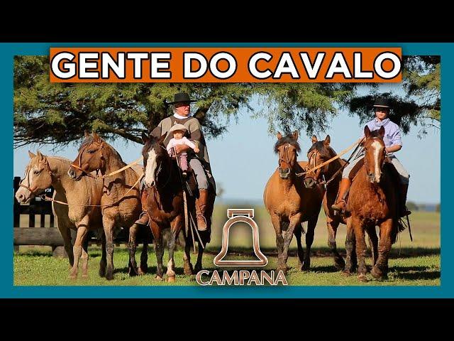 Cabanha CAMPANA- Seis gerações no CAVALO