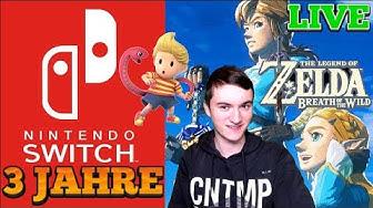 3 Jahre Switch und Zelda BOTW nachfeiern ! | Zelda und Online Games | LIVE