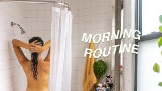 Self-Care Morning Routine / In College, Stress, Happiness