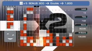 Lumines Live Base Pack Gameplay