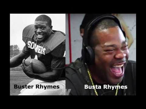 Busta Rhymes and Vikings Star Buster Rhymes. Who came first?