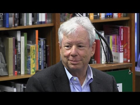 "Richard Thaler, ""Misbehaving"""